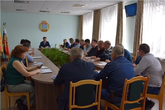 В администрации Московского района проведено совещание с руководителями управляющих компаний