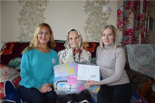 Ветерану Великой Отечественной войны, труженику тыла Анне Тихоновой исполнилось 95 лет