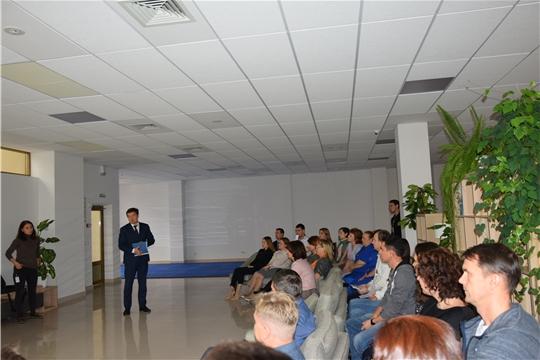 В Московском районе г. Чебоксары продолжаются встречи в рамках Единого информационного дня