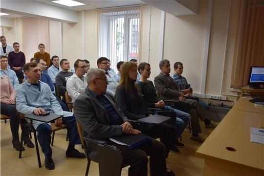 Члены информационной группы встретились с трудовым коллективом НПП «Динамика»