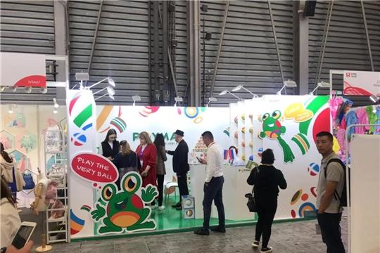 АО «Чебоксарское производственное объединение им. В.И Чапаева» участвует в международной выставке игрушек и товаров для детей