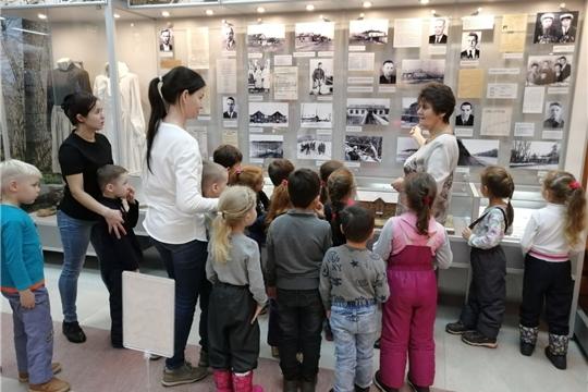 Чебоксарам – 550: дошкольники побывали в музее одного из градообразующих предприятий нашего города