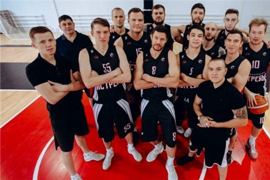 Баскетбольная команда «Чебоксарские ястребы» одержала двойную победу дома
