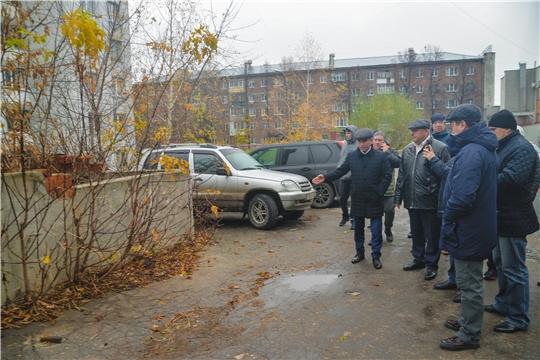 В Московском районе г. Чебоксары проведен обход территории