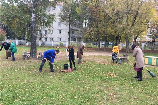 Итоги осеннего санитарно-экологического месячника в Московском районе г. Чебоксары