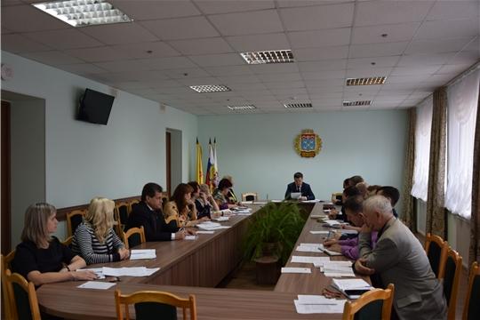С руководителями структурных подразделений проведено еженедельное совещание