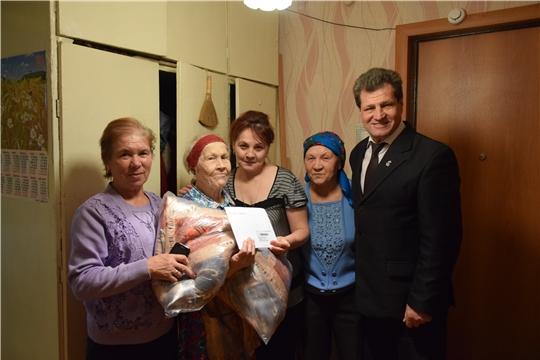 В Московском районе г. Чебоксары поздравили с 90-летним юбилеем Елизавету Моронцову и Анну Фадееву