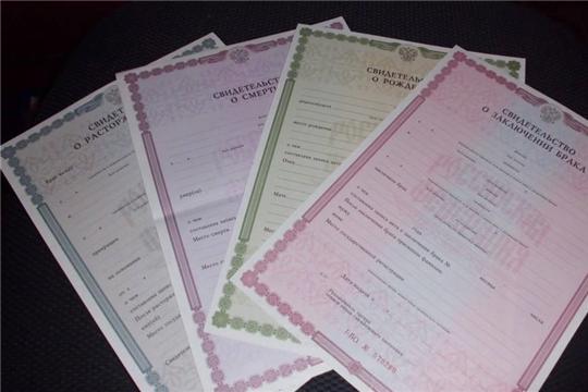 216 записей о рождении зарегистрировано в октябре в отделе ЗАГС администрации Московского района г. Чебоксары
