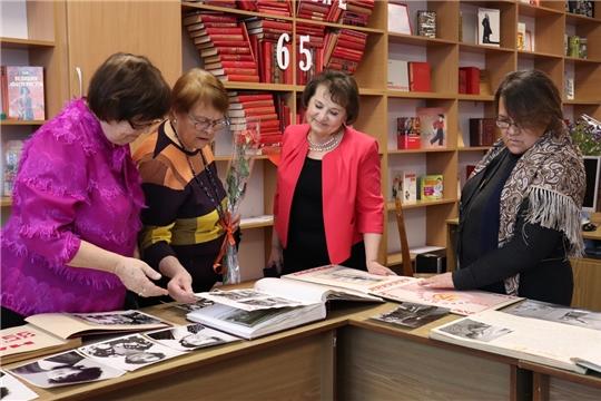 В юбилейный год Центральная городская библиотека им. Маяковского отметила 65-летие учреждения