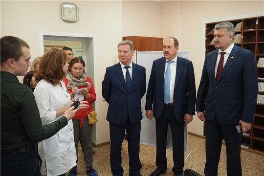 В рамках проекта «Цеховая медицина» при чебоксарском предприятии открылся первый здравпункт