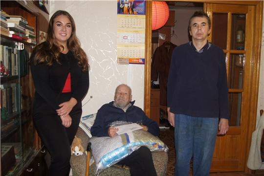 Заслуженного работника высшей школы Чувашской АССР Юсима Хаймулина поздравили с 90-летним юбилеем