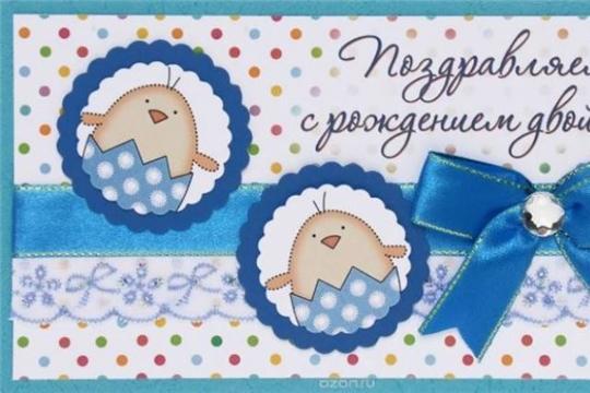 В отделе ЗАГС администрации Московского района г. Чебоксары зарегистрирована 29-ая двойня с начала 2019 года