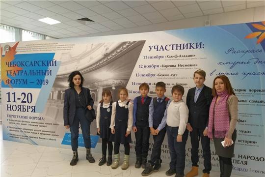 Несовершеннолетние дети, состоящие на учете в комиссии по делам несовершеннолетних, посетили театр