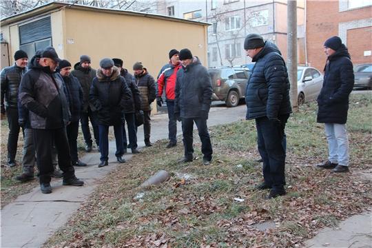 В Московском районе г. Чебоксары проведен еженедельный обход территории