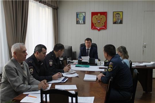 В Московском районе г. Чебоксары обсуждены вопросы безопасности в преддверии новогодних праздников