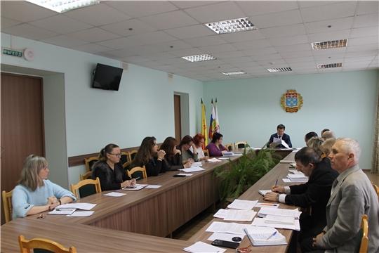 В администрации Московского района г. Чебоксары проведено еженедельное совещание