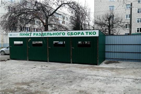 Инновационный подход: во дворах Московского района г. Чебоксары устанавливают контейнерные площадки нового типа