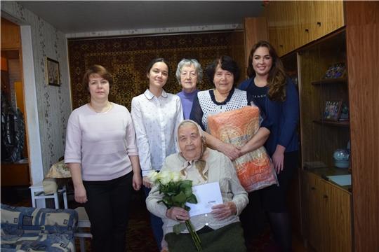 Долгожители Московского района г. Чебоксары отмечают свой солидный юбилей