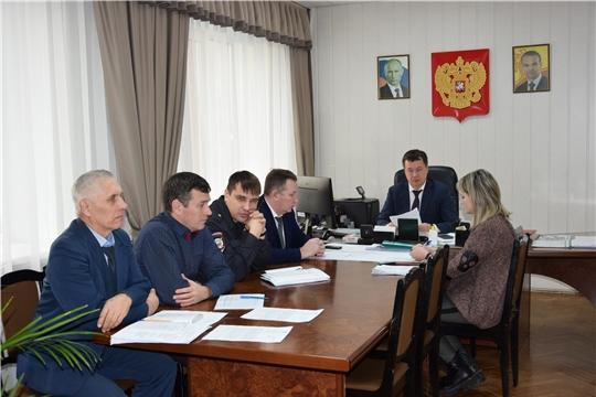 В Московском районе г. Чебоксары с правоохранителями обсудили вопрос общественной безопасности