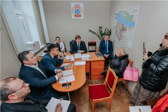 В администрацию города Чебоксары в Общероссийский день приема граждан обратилось более 100 человек