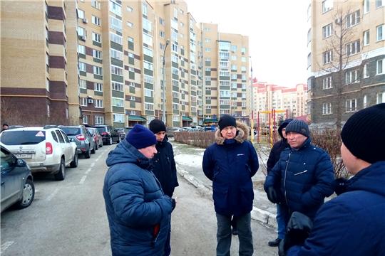 В Московском районе г. Чебоксары организован комиссионный обход территории