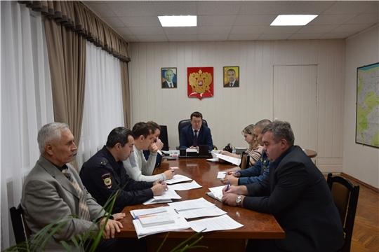 Московский район г. Чебоксары: вопросы безопасности в преддверии новогодних каникул должны быть приоритетными