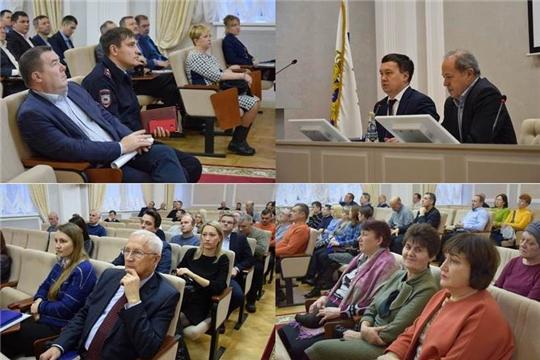 Встреча в рамках Единого информационного дня проведена с трудовым коллективом АО «ЧПО им. В.И. Чапаева»