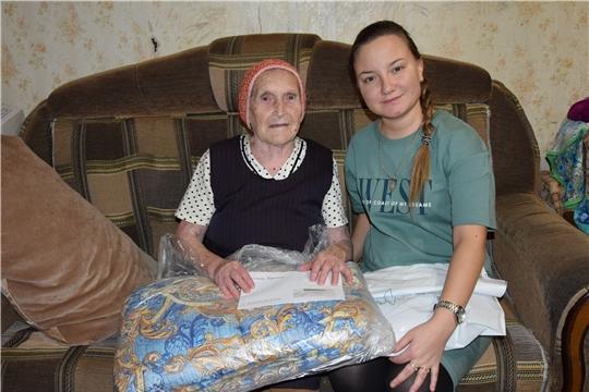 В свой 90-летний юбилей Анастасия Назарова получила открытку от Президента России Владимира Путина