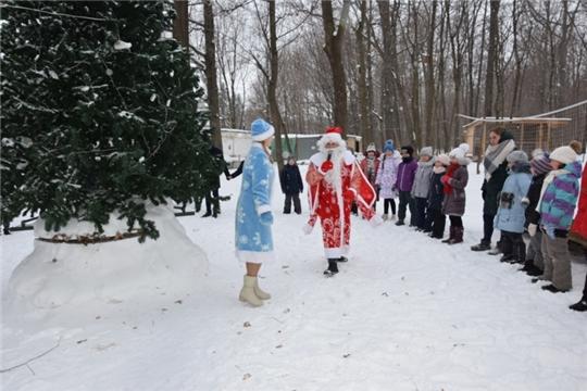 Для детей Московского района г. Чебоксары в «Простопарке» пройдет новогодний праздник «Новый год у ворот»
