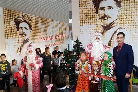 В Московском районе г. Чебоксары организована благотворительная ёлка для многодетных семей