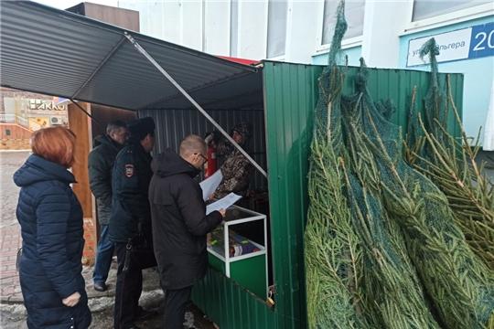 На территории Московского района г. Чебоксары проведен рейд по реализации пиротехнической продукции