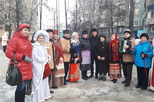 В ТОС Московского района г. Чебоксары проходят новогодние мероприятия