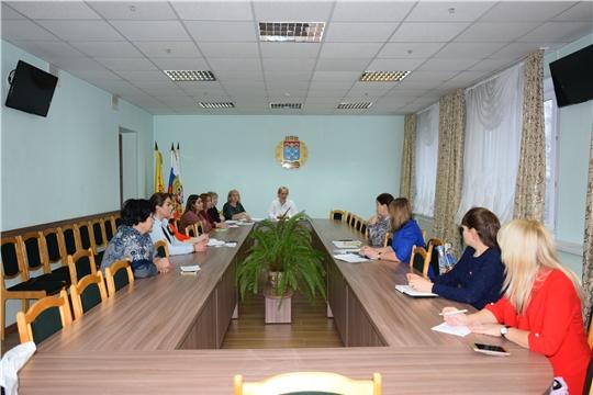 Субъекты профилактики Московского района г. Чебоксары обсудили вопросы контроля за семьями «группы риска» в праздничные дни
