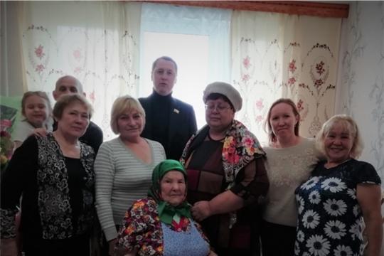 95-летний юбилей отметила жительница Новочебоксарска, ветеран войны и труда Таисия Леонтьевна Потапова