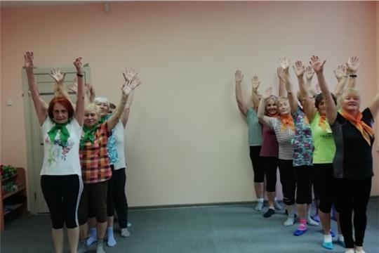 Веселые старты «Физкульт-ура!»  в Новочебоксарском центре социального обслуживания населения