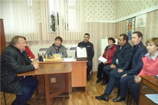 В участковом пункте полиции №7 состоялось очередное заседание совета профилактики правонарушений