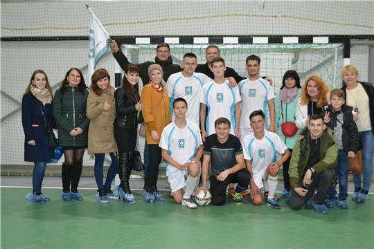 Футболисты «Химпрома» - на пьедестале почета