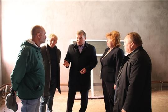 Депутат Госдумы России Николай Малов в Новочебоксарске ознакомился с ходом строительства детского сада
