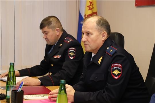 Новочебоксарск с рабочим визитом посетил министр  внутренних дел по Чувашской Республике Виктор Шметков