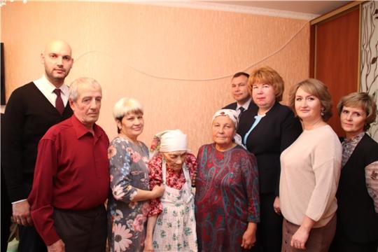 Жительница Новочебоксарска Мария Ильинична Иванова сегодня отмечает вековой юбилей