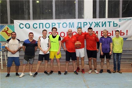 Газоспасатели «Химпрома» - лучшие в волейболе и стритбаскете