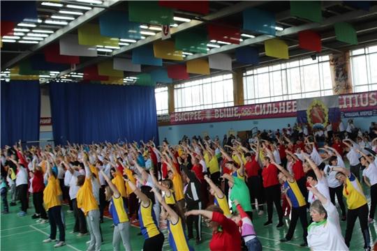 В VII физкультурно-оздоровительной Спартакиаде Новочебоксарского городского отделения Союза женщин Чувашии приняли участие 36 команд