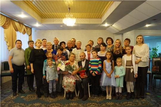 В Новочебоксарске состоялось чествование «золотых» юбиляров семейной жизни Льва Кирилловича и Лели Дмитриевны Федоровых
