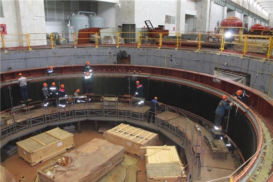 РусГидро модернизировало 15 из 18 гидротурбин Чебоксарской ГЭС