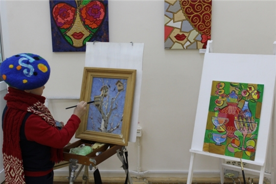 г. Новочебоксарск: «Ночь искусств» в Художественном музее собрала лучшие мастер-классы для горожан