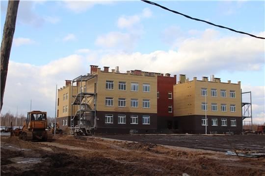 г. Новочебоксарск: состоялось ежедневное совещание на месте строительства нового детского сада