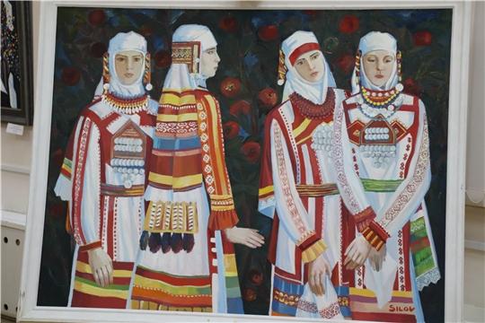 В Новочебоксарске состоялось открытие выставки народного художника Чувашии Анатолия Силова