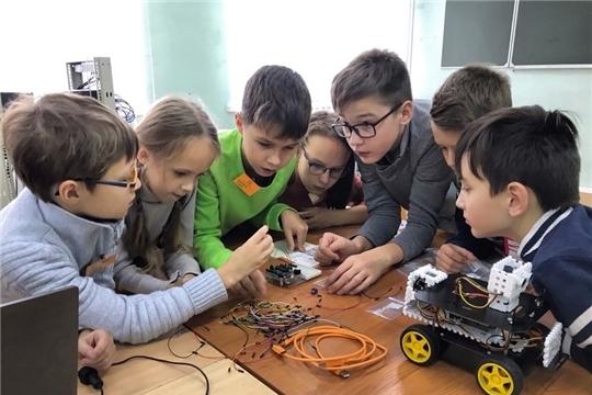 В Детском технопарке «Кванториум» в Новочебоксарске начались занятия