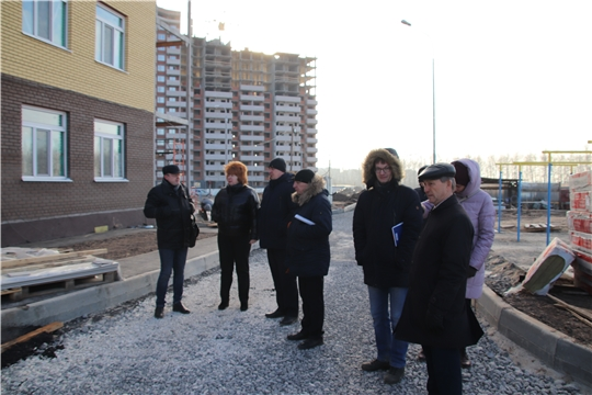 По поручению Главы Чувашии Михаила Игнатьева в Новочебоксарске строится новый детский сад