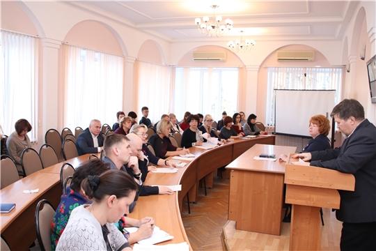 г. Новочебоксарск: на еженедельной планерке обсудили готовность дорожного хозяйства к осенне-зимнему периоду